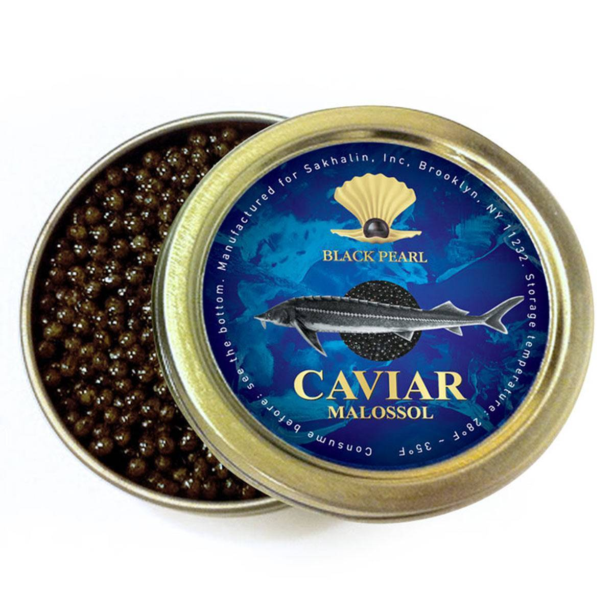 Ossetra Sturgeon (Black) Caviar for ...